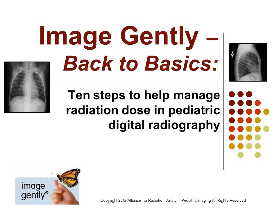 Image Gently – Back to Basics:
