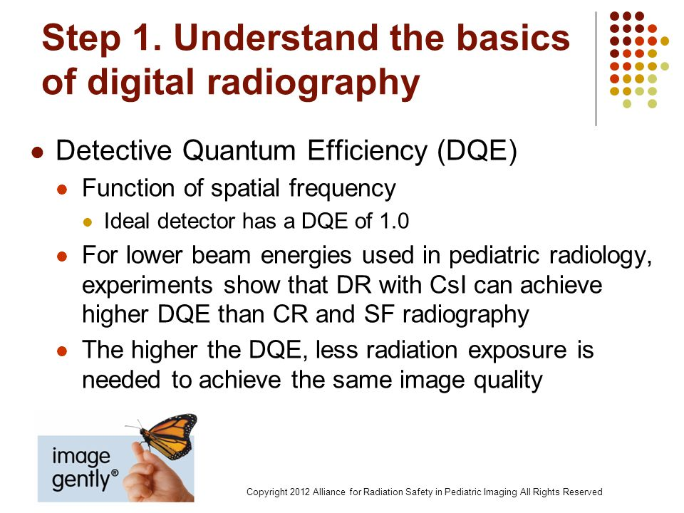 Step 1. Understand the basics of digital radiography