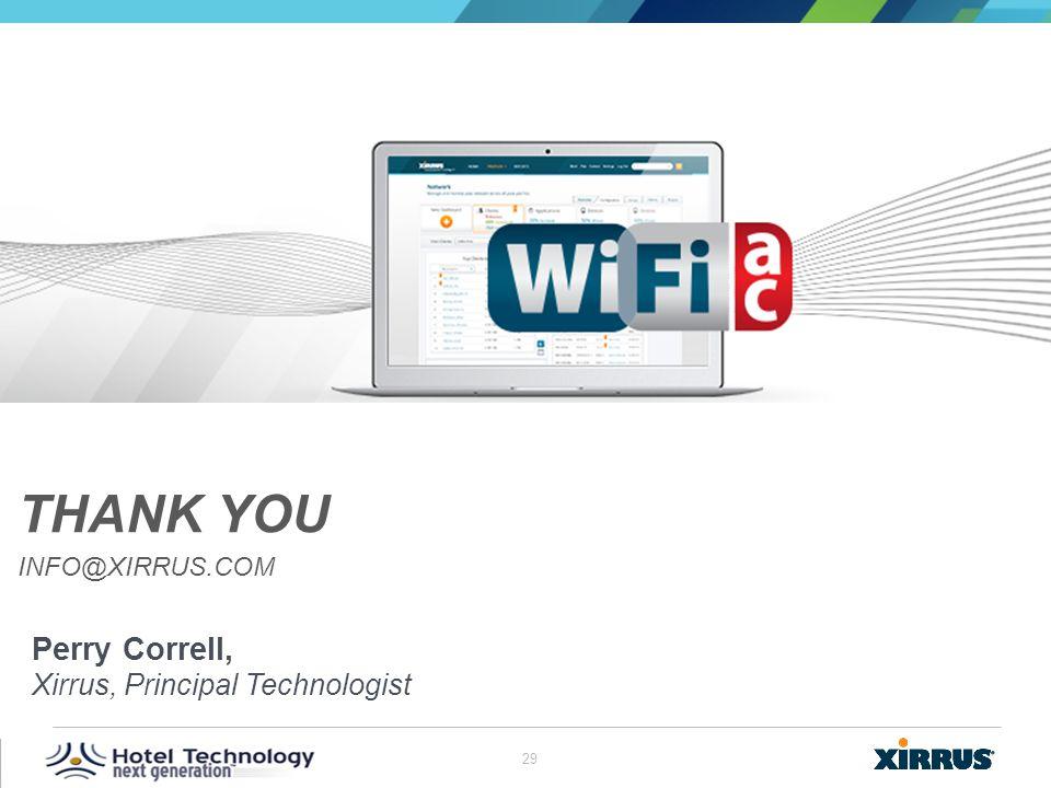 Thank You info@xirrus.com