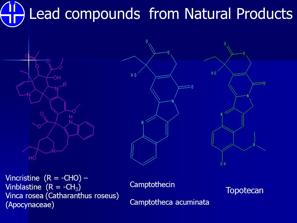 Lead compounds from Natural Products