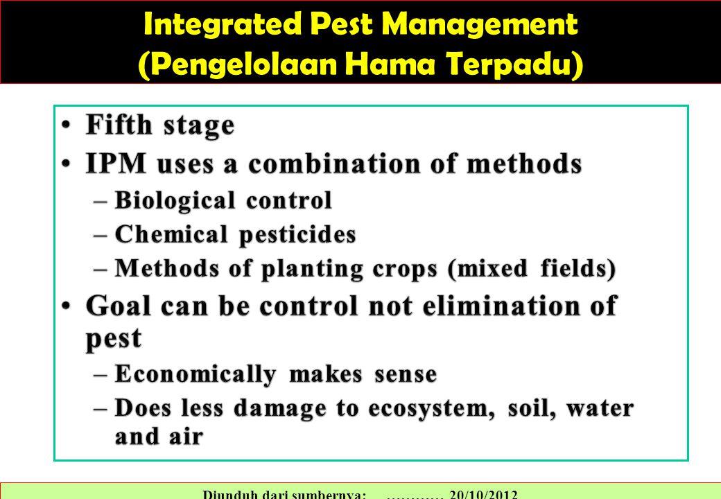 Integrated Pest Management (Pengelolaan Hama Terpadu)