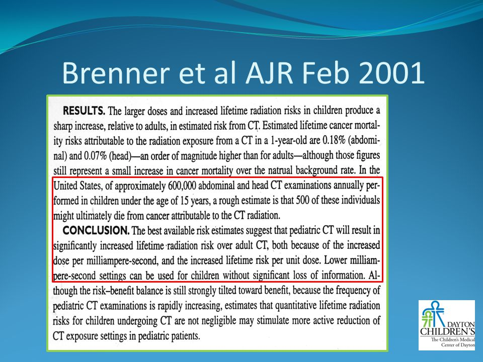 Brenner et al AJR Feb 2001