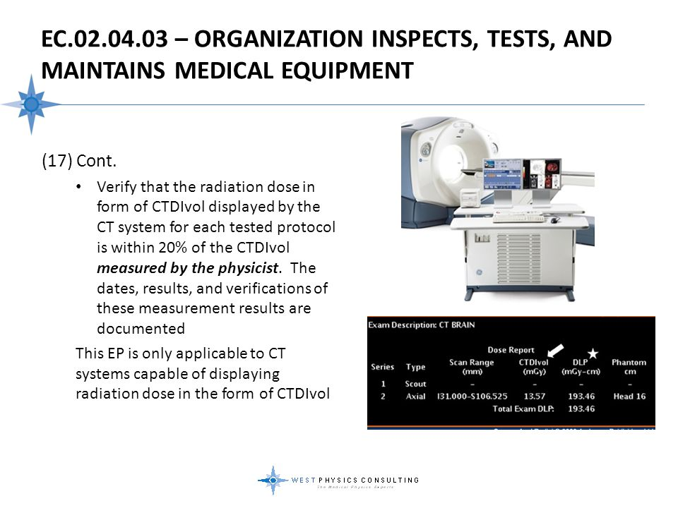EC.02.04.03 – Organization Inspects, Tests, And Maintains Medical Equipment