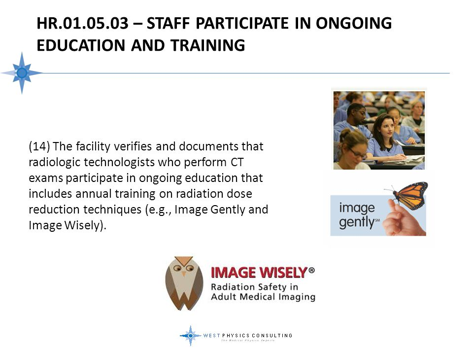 HR.01.05.03 – Staff Participate In Ongoing Education And Training