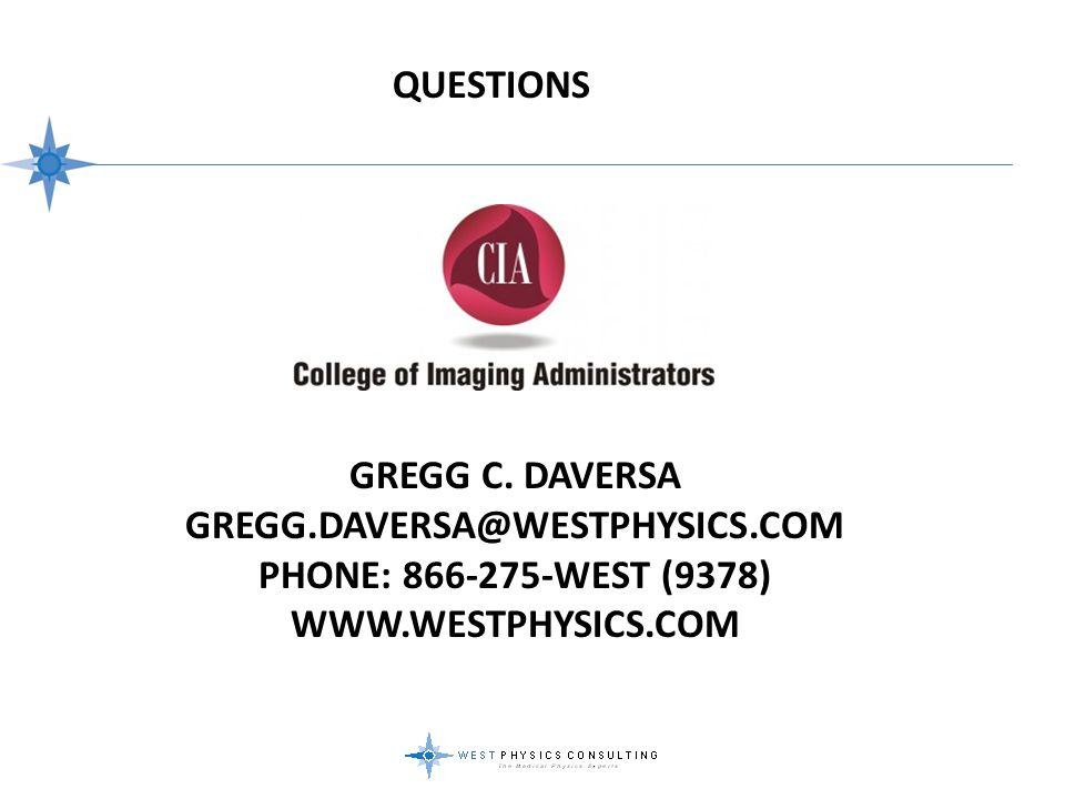 QUESTIONS Gregg c.