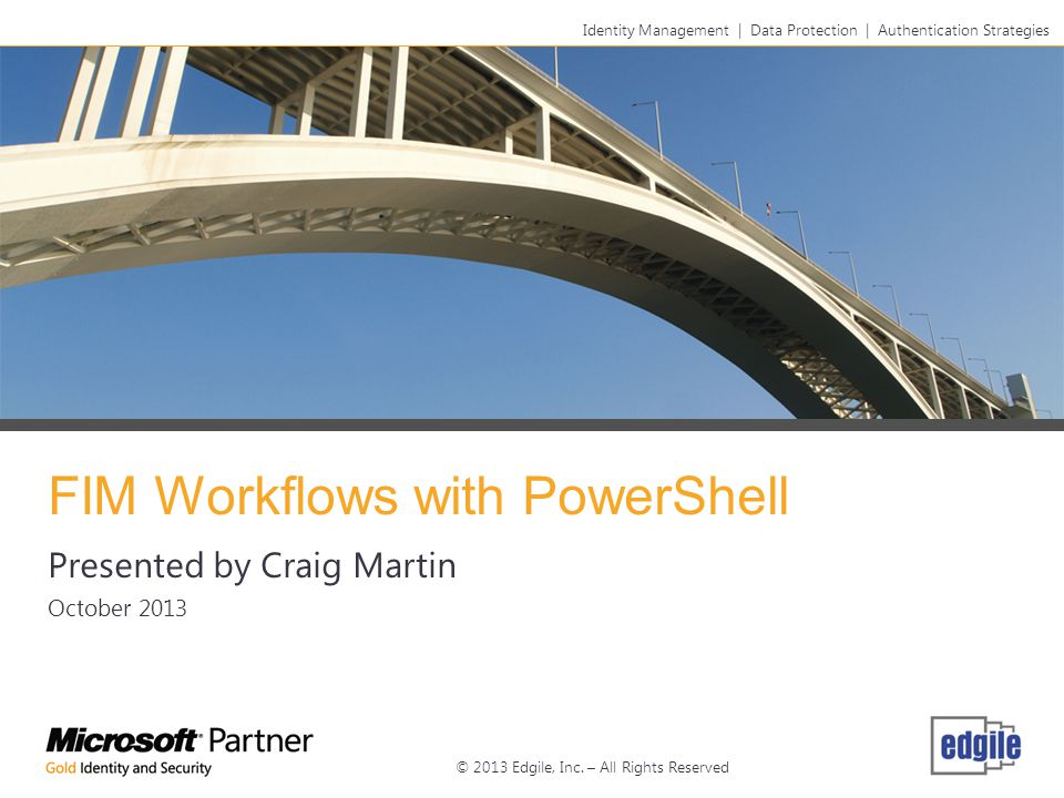 FIM Workflows with PowerShell