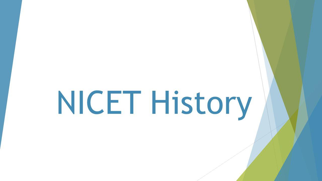 NICET History