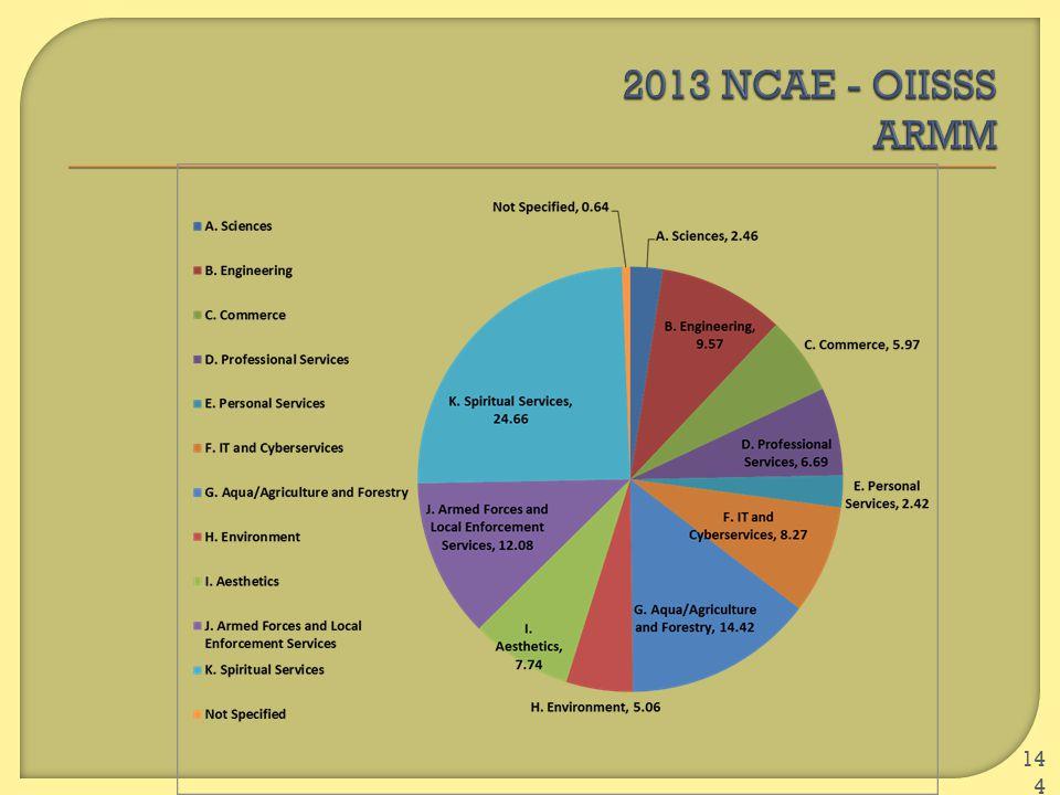 2013 NCAE - OIISSS ARMM