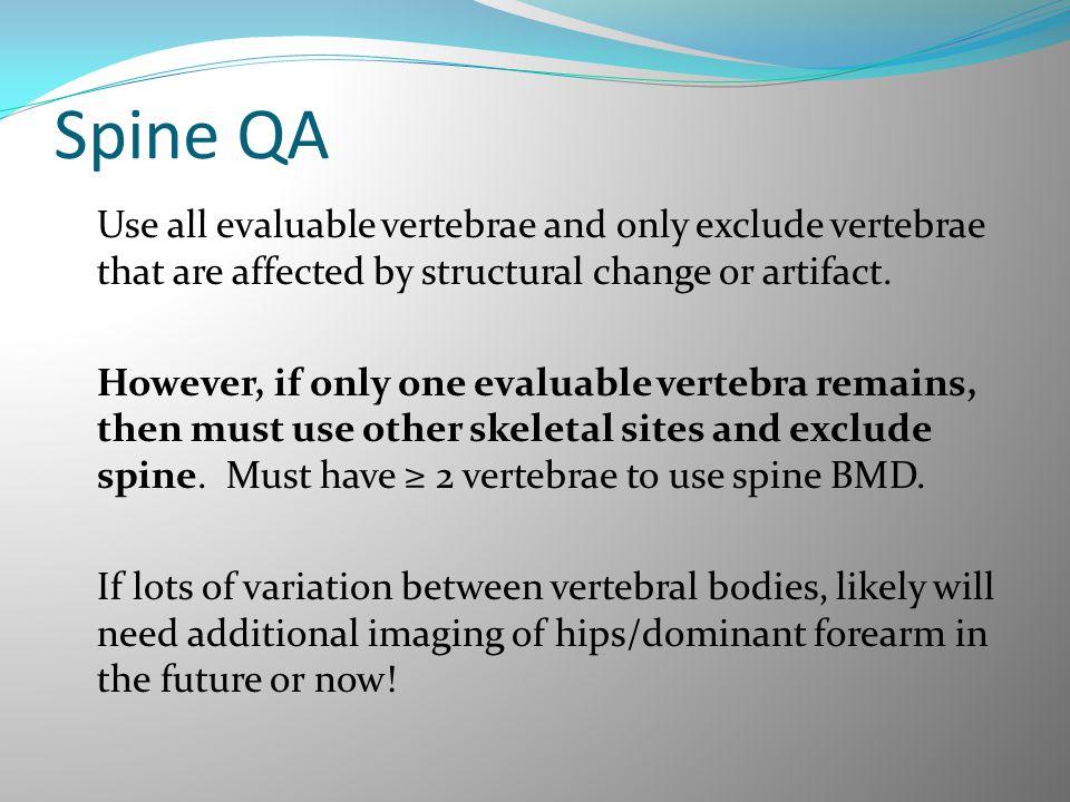 Spine QA