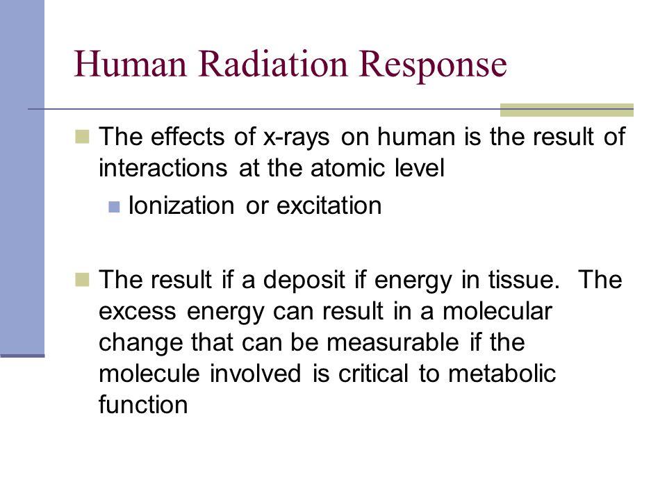 Human Radiation Response
