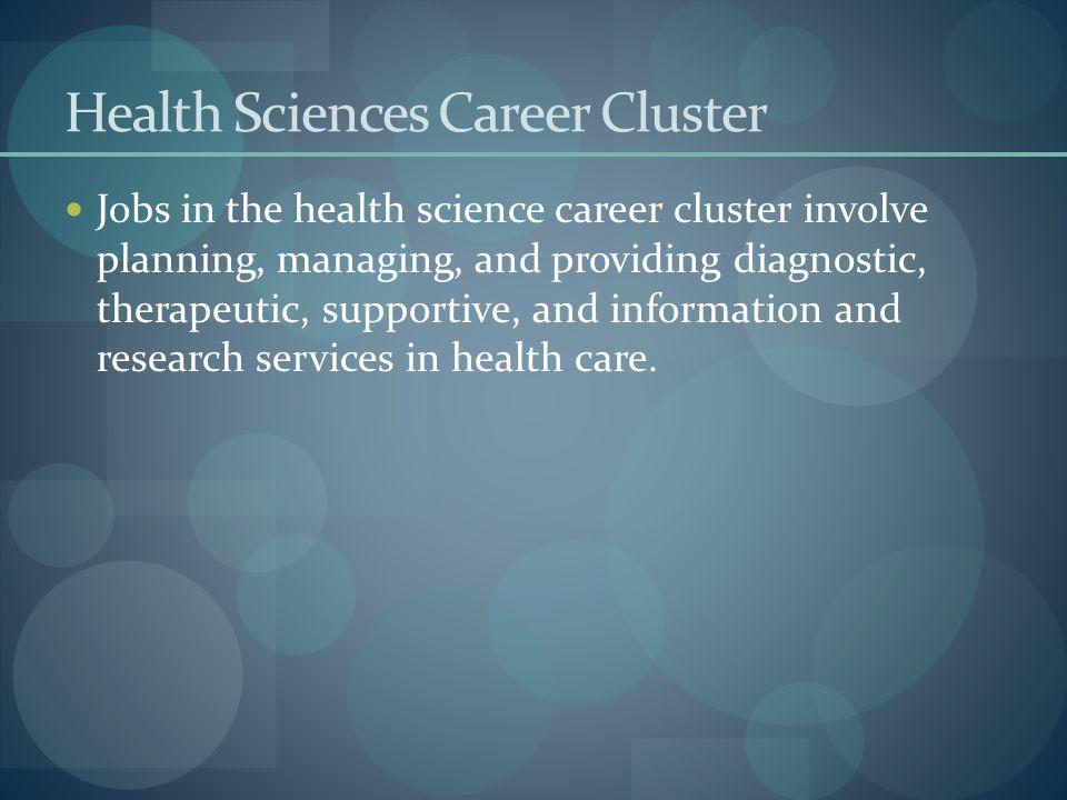 Health Sciences Career Cluster
