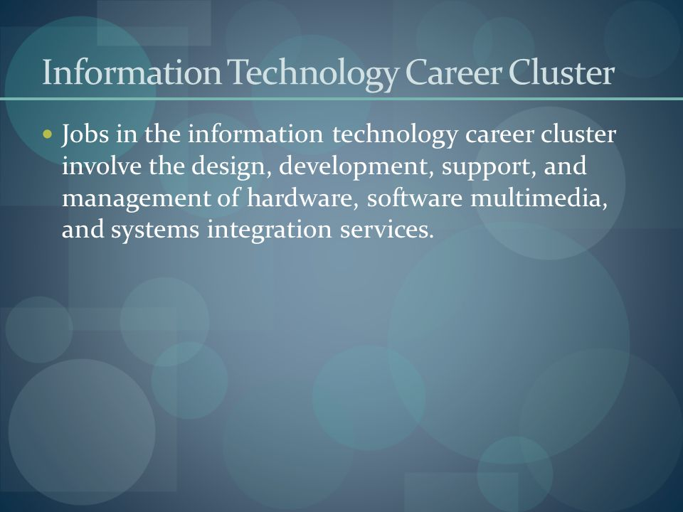 Career Exploration Career Clusters Amp Pathways Ppt Download