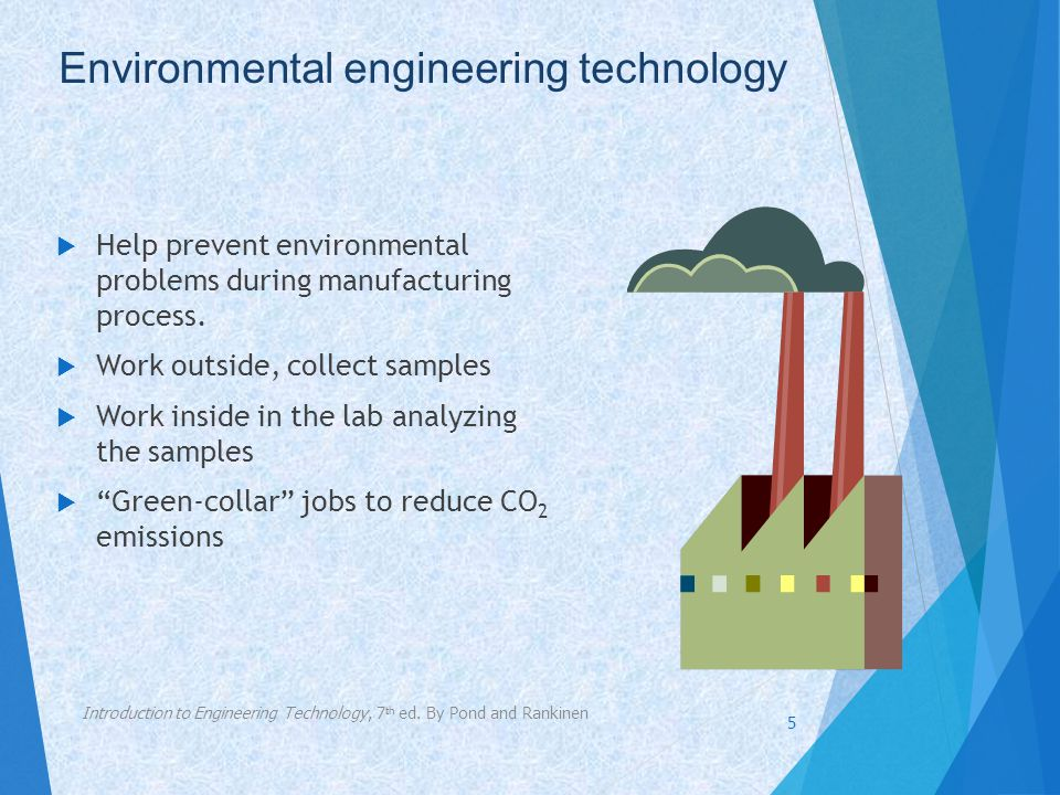 Environmental engineering technology