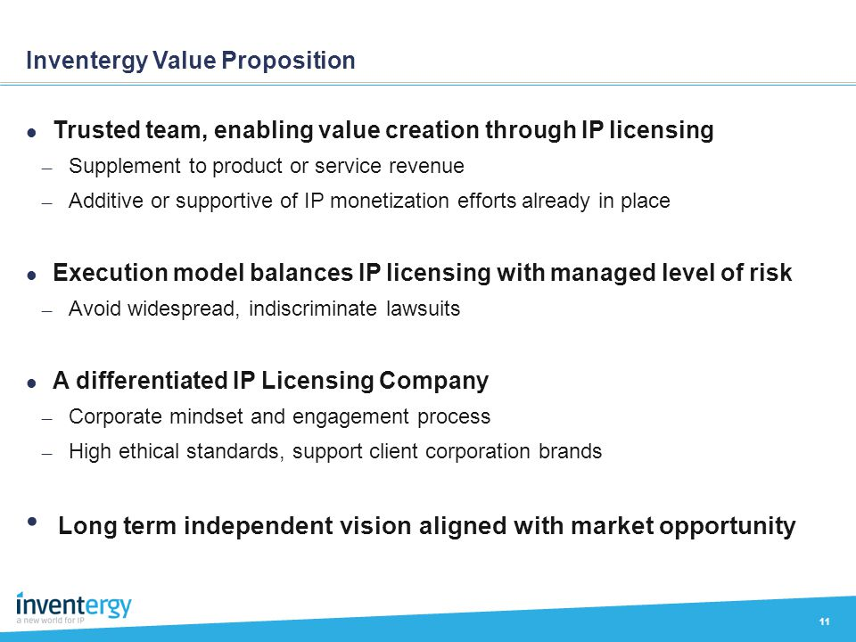 Inventergy Value Proposition