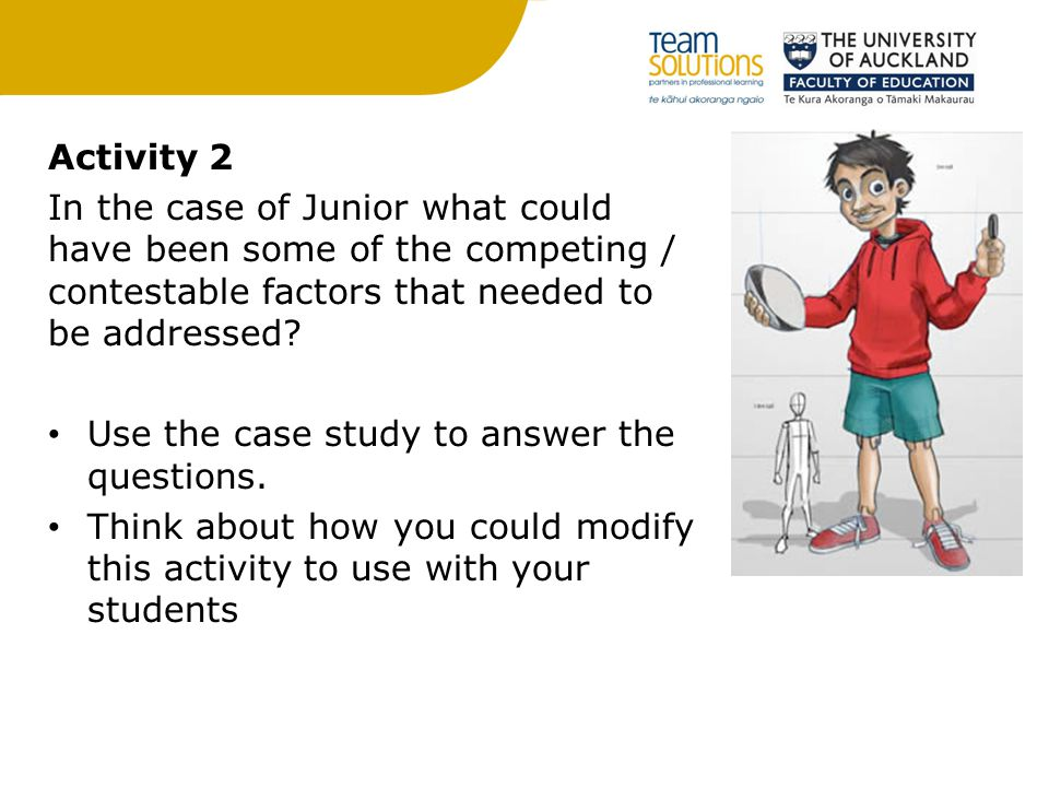 Use the case study to answer the questions.