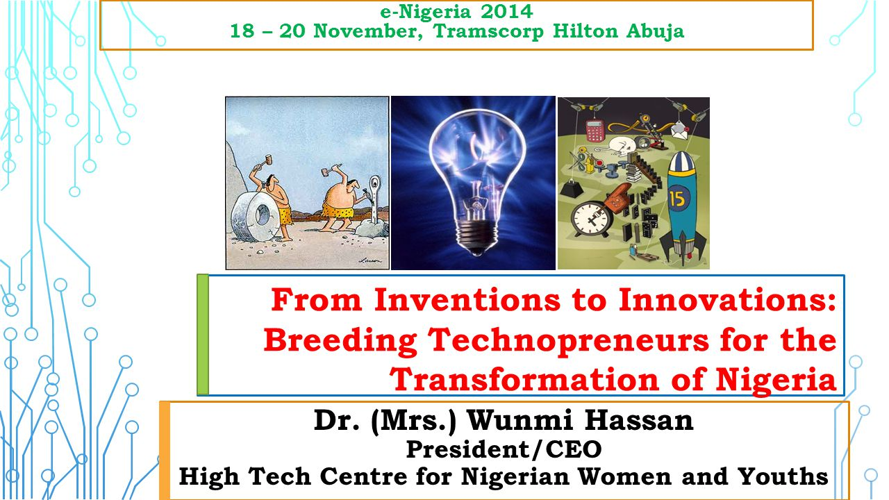 From Inventions to Innovations:
