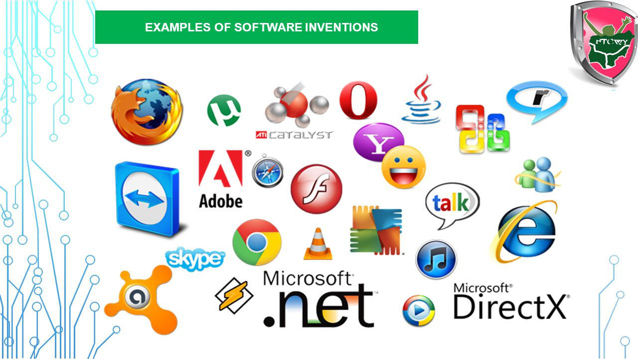 EXAMPLES OF SOFTWARE INVENTIONS