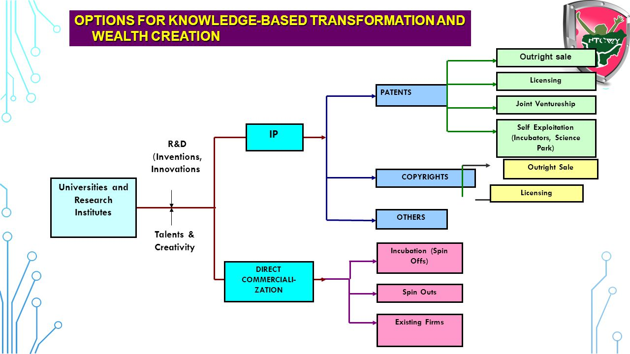 OPTIONS FOR KNOWLEDGE-BASED TRANSFORMATION AND WEALTH CREATION