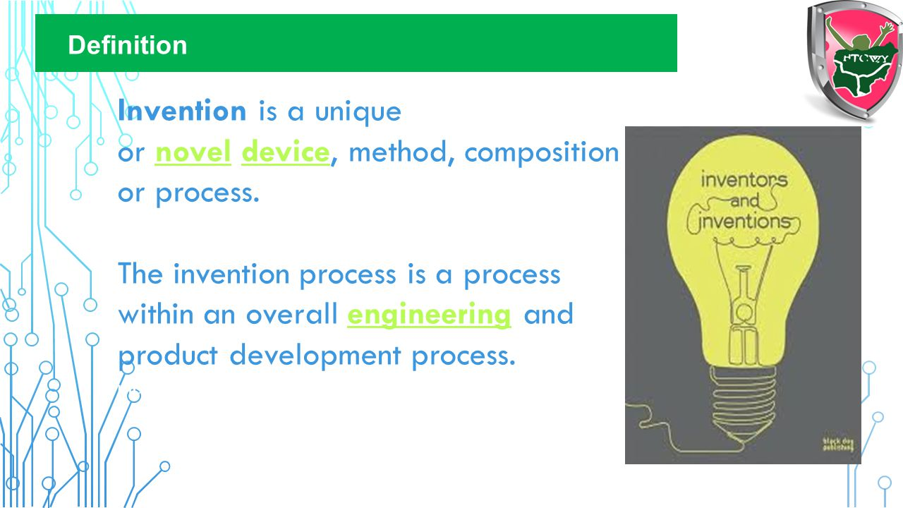 Invention is a unique or novel device, method, composition or process.