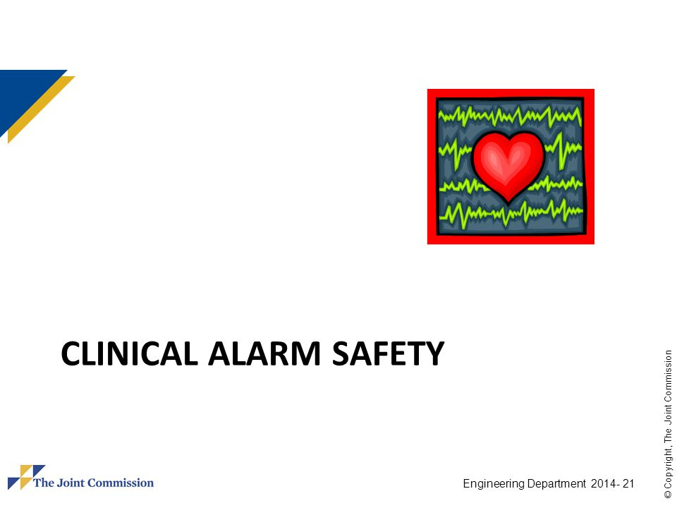 CLINICAL ALARM sAFETY