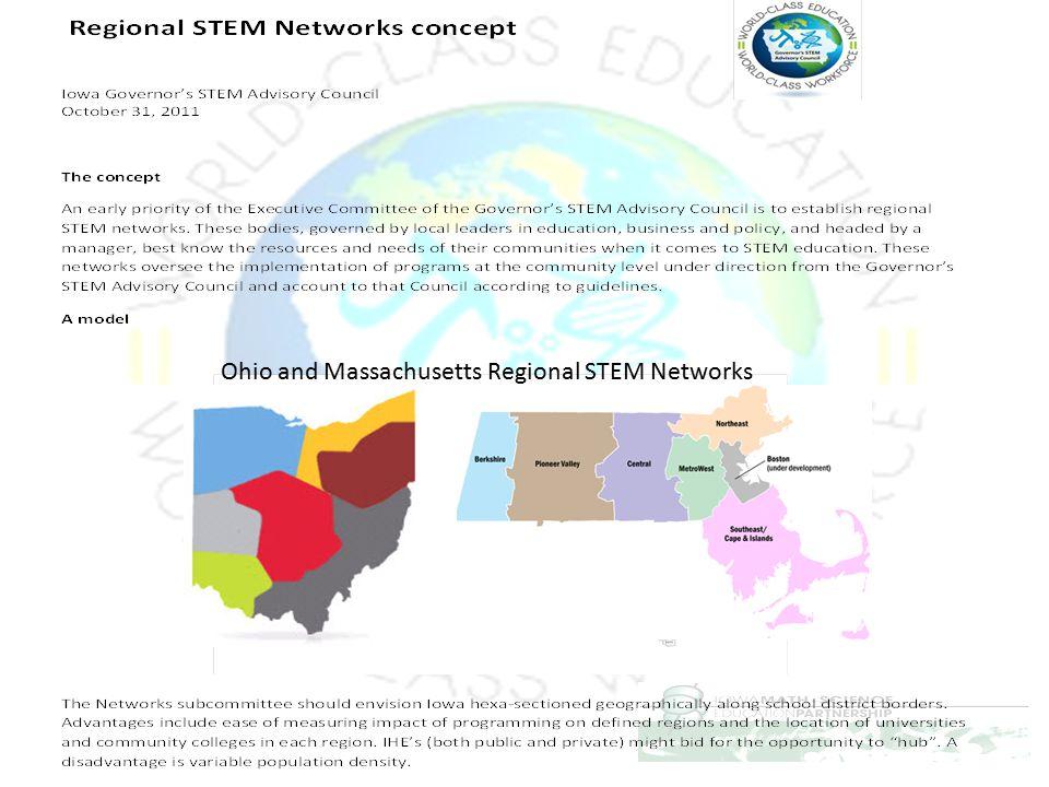 Ohio and Massachusetts Regional STEM Networks
