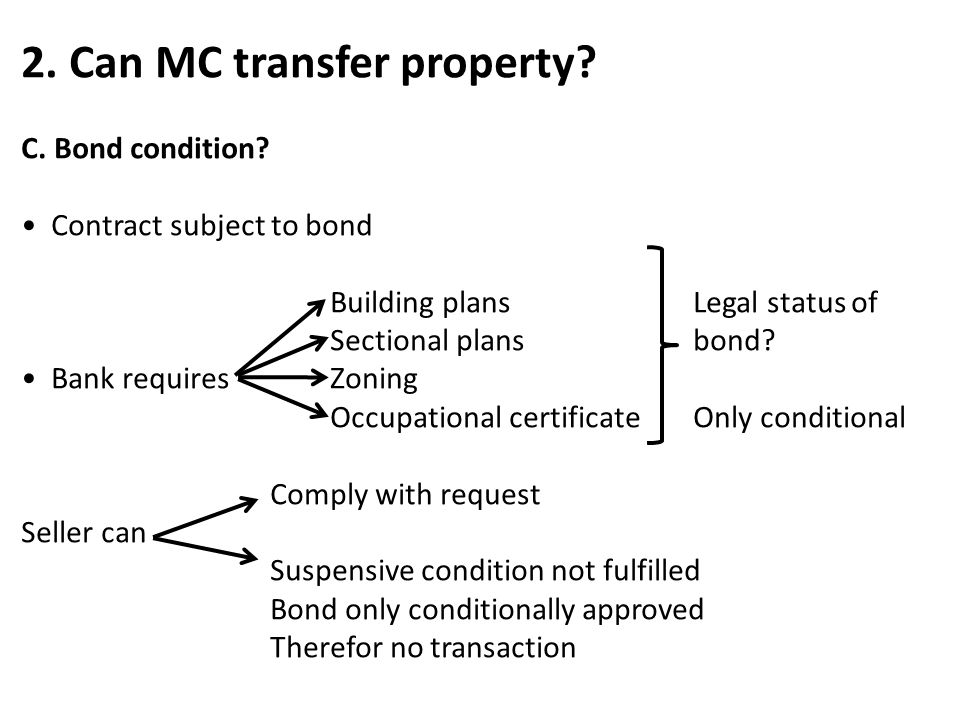 2. Can MC transfer property