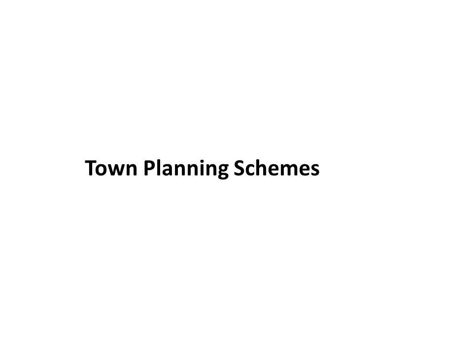 Town Planning Schemes