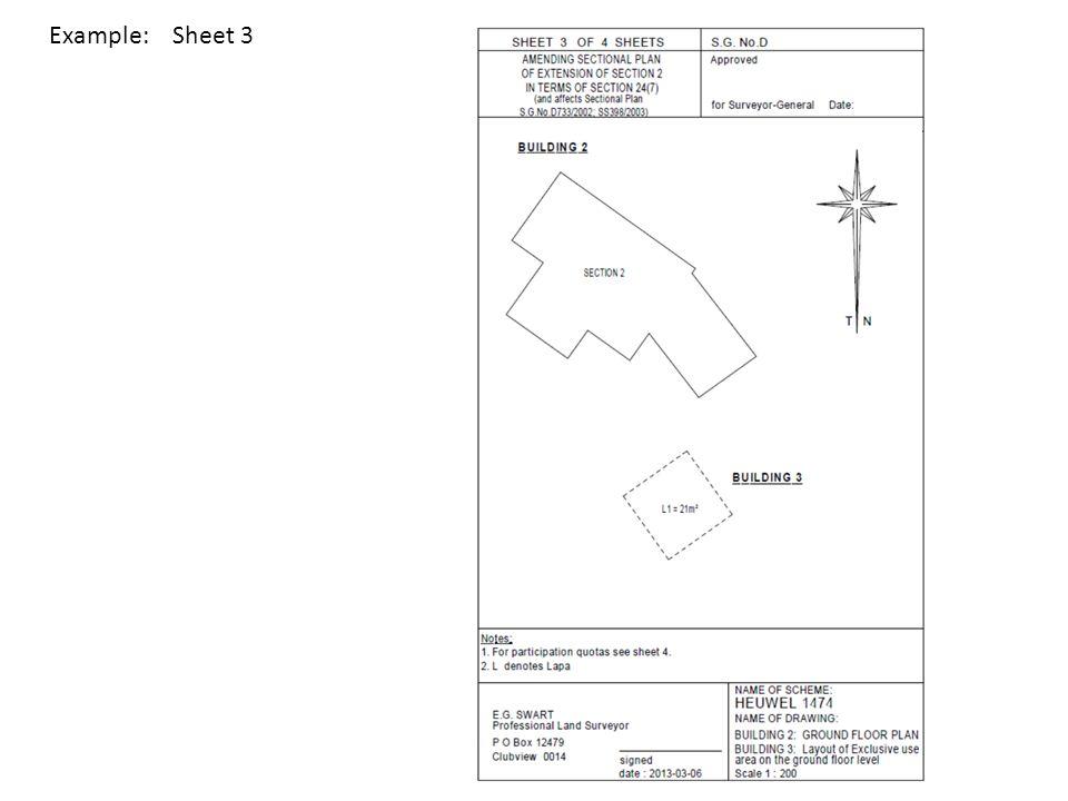 Example: Sheet 3