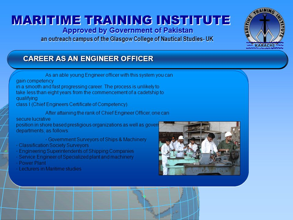 CAREER AS AN ENGINEER OFFICER