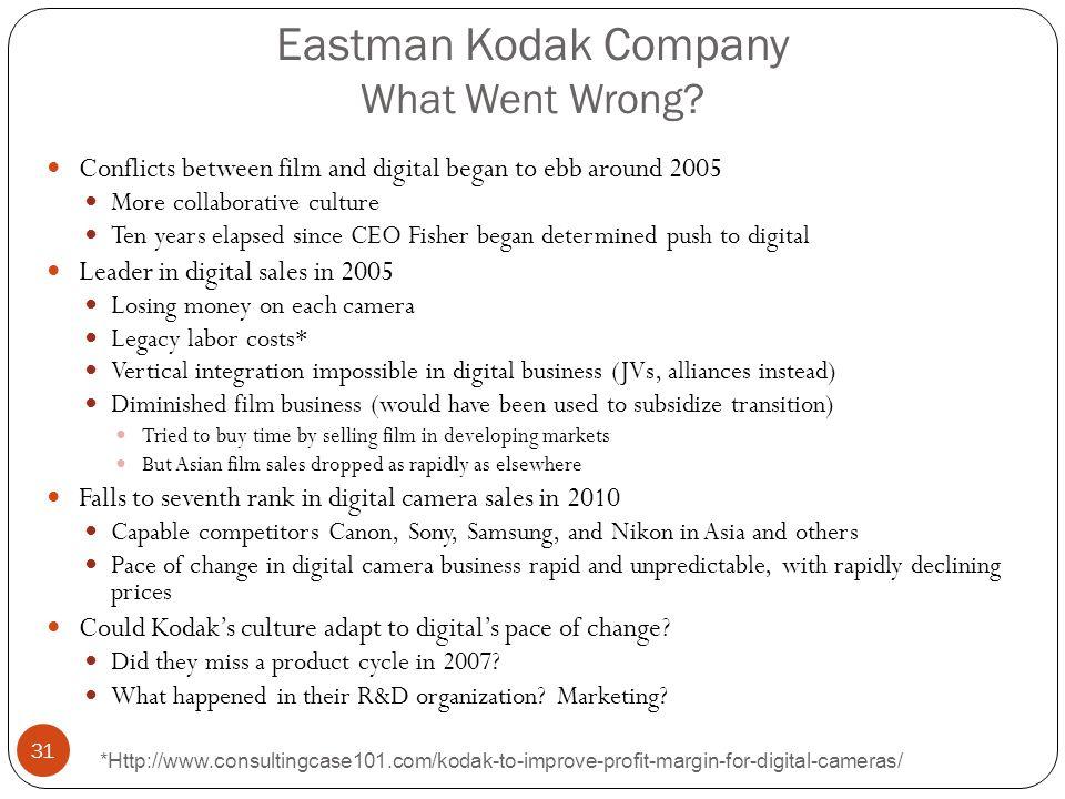 Eastman Kodak Company What Went Wrong