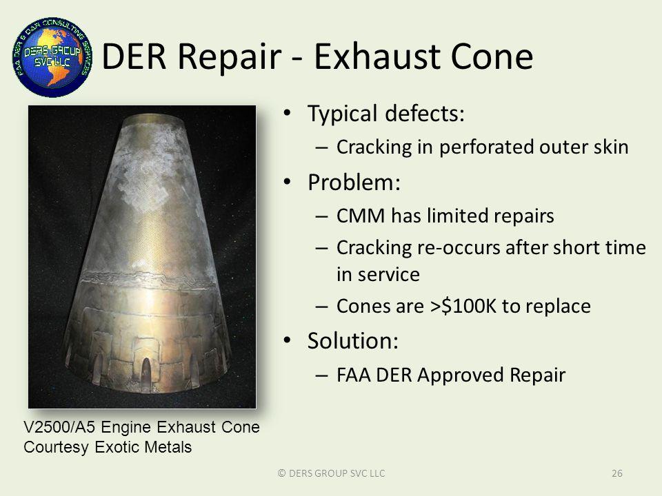 DER Repair - Exhaust Cone