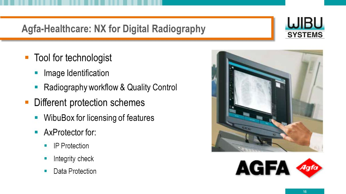 Agfa-Healthcare: NX for Digital Radiography