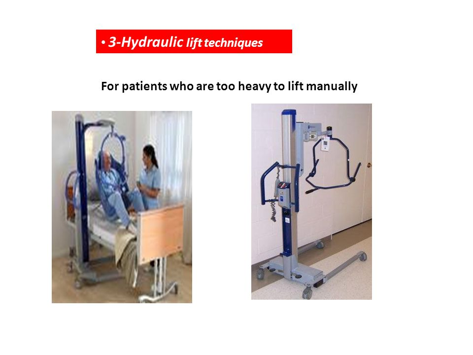 3-Hydraulic lift techniques