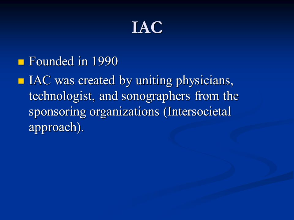 IAC Founded in 1990.