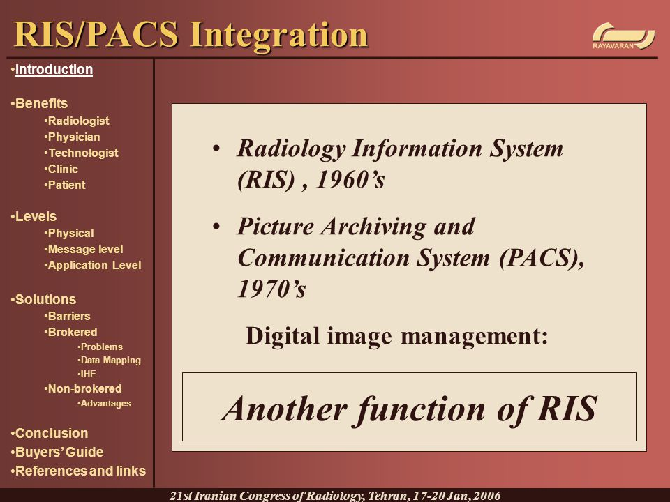 Another function of RIS
