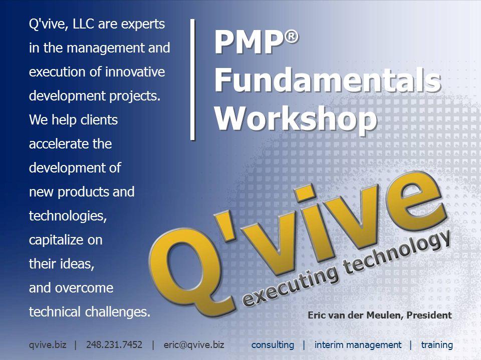PMP® Fundamentals Workshop