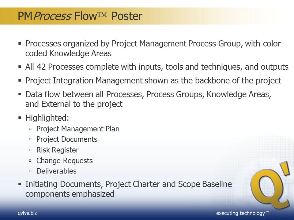 PMProcess Flow Poster