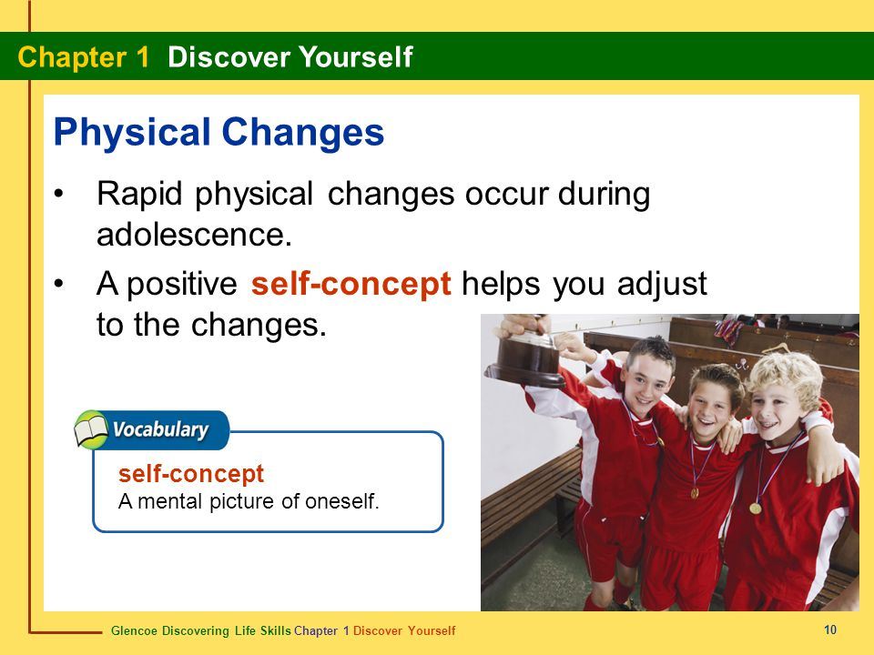 Physical Changes Rapid physical changes occur during adolescence.