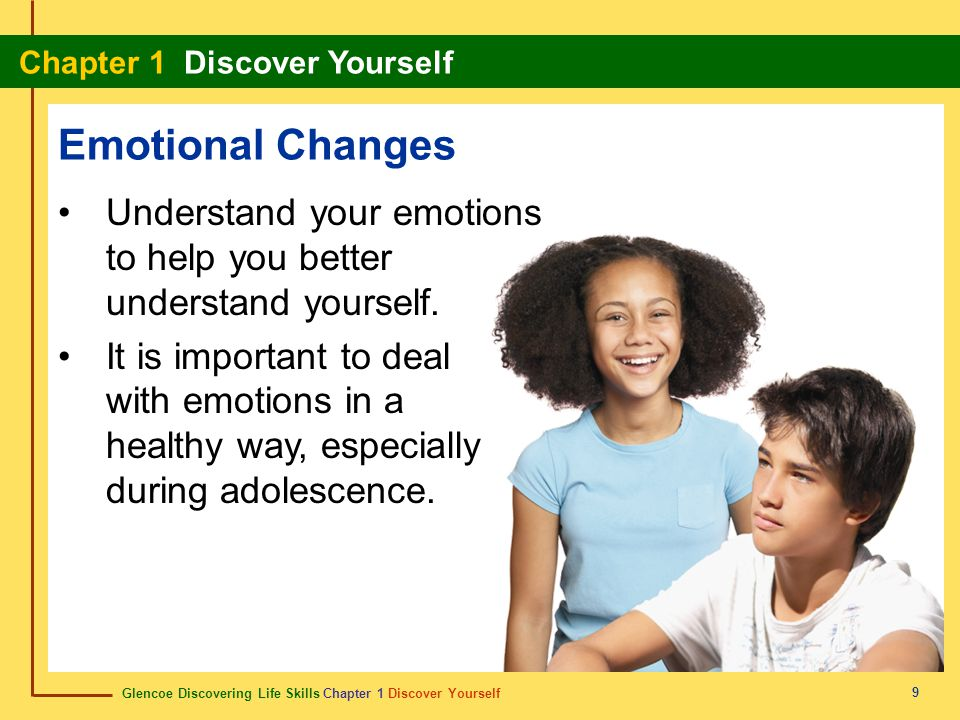 Emotional Changes Understand your emotions to help you better understand yourself.