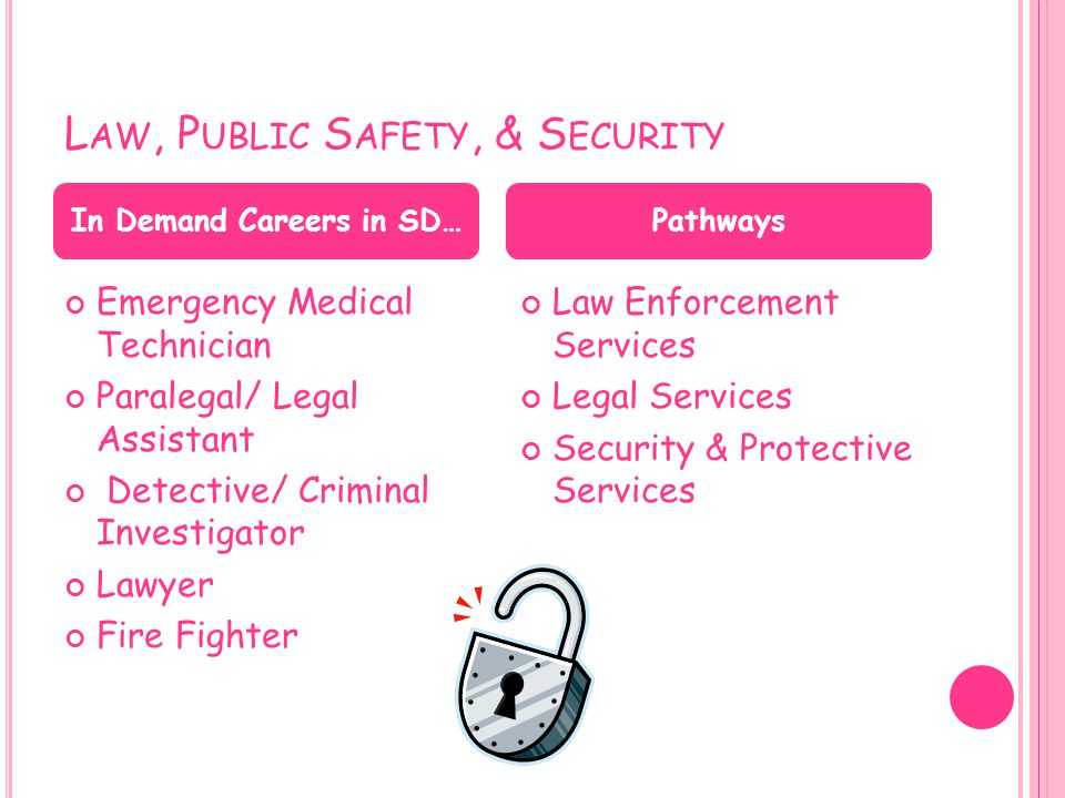 Law, Public Safety, & Security