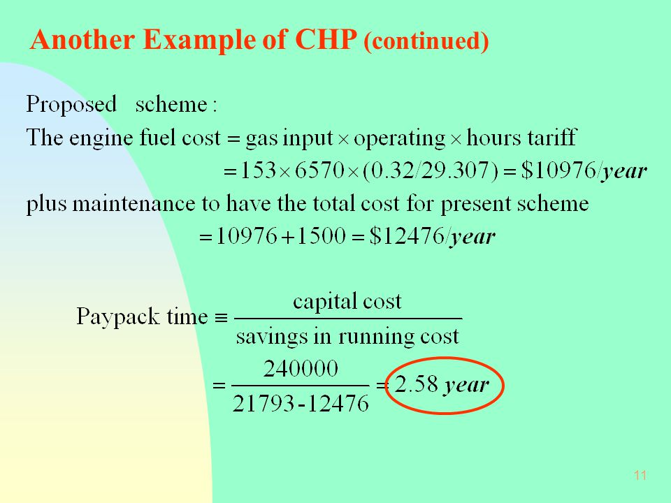 Another Example of CHP (continued)
