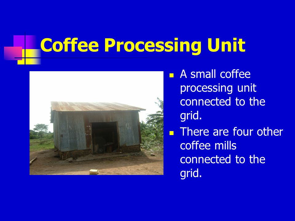 Coffee Processing Unit