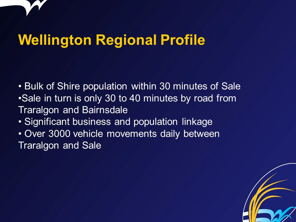 Wellington Regional Profile