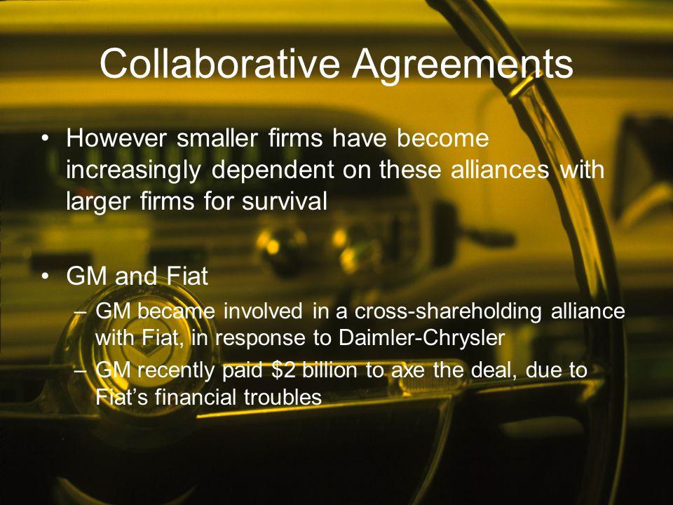 Collaborative Agreements
