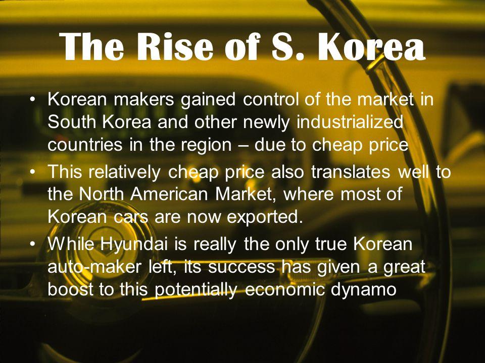 The Rise of S. Korea
