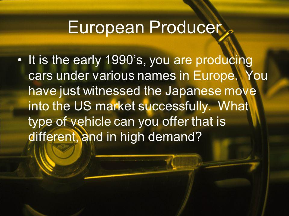 European Producer