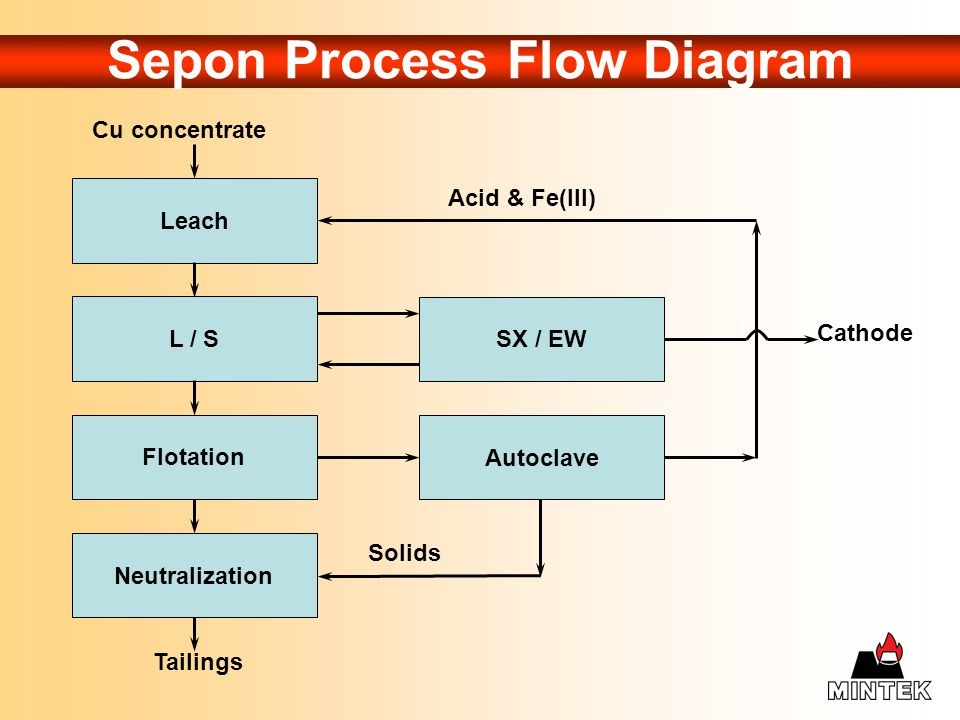 Sepon Process Flow Diagram