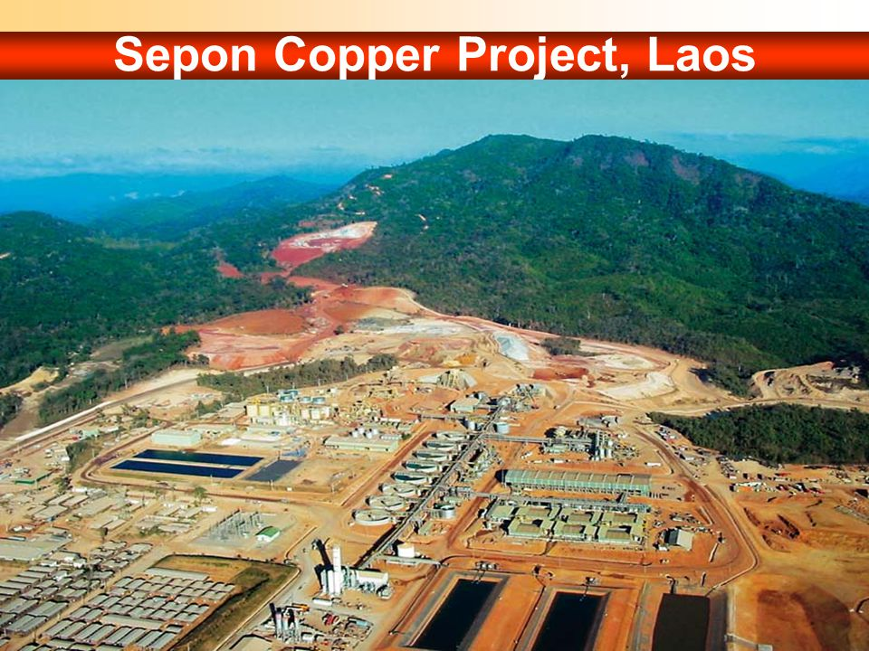 Sepon Copper Project, Laos