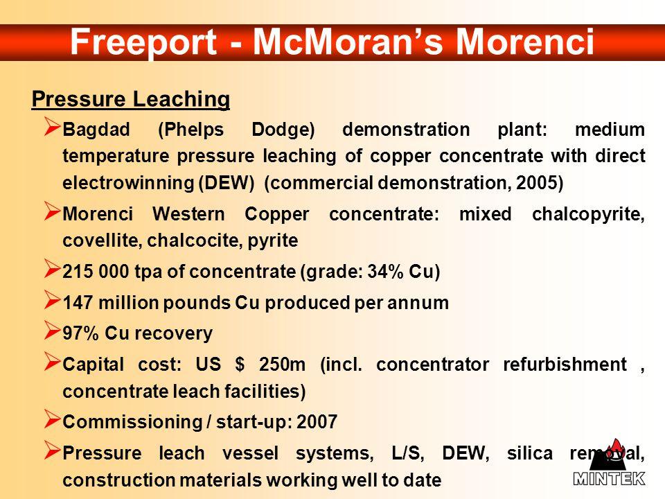 Freeport - McMoran's Morenci