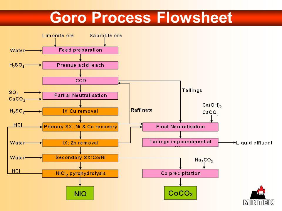 Goro Process Flowsheet